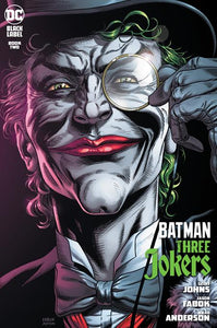 BATMAN THREE JOKERS #2 PREMIUM VAR E DEATH IN THE FAMI