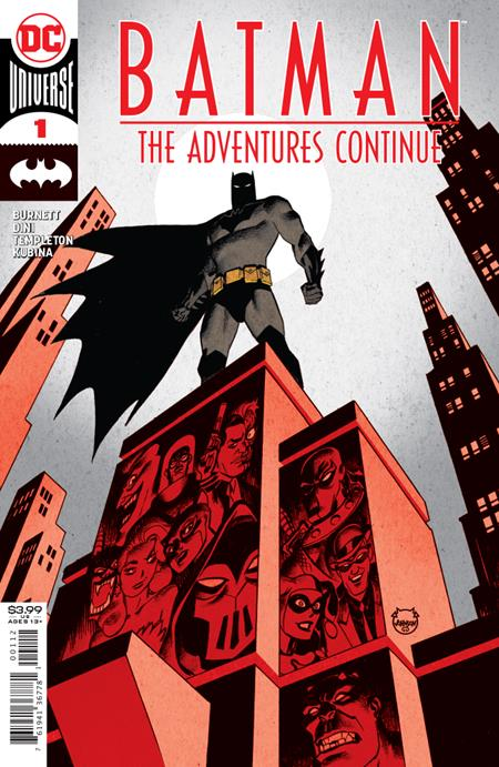 BATMAN THE ADVENTURES CONTINUE #1 2ND PTG
