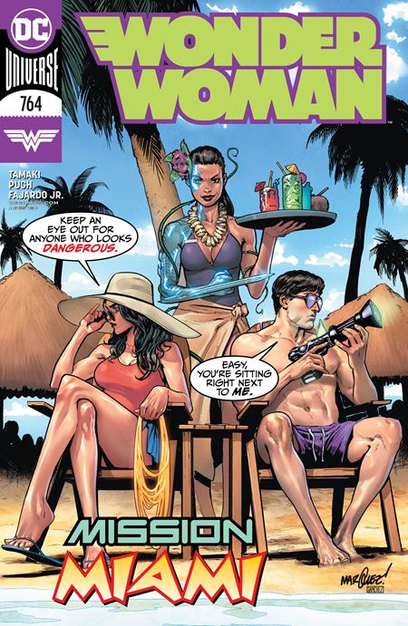 WONDER WOMAN #764 CVR A DAVID MARQUEZ
