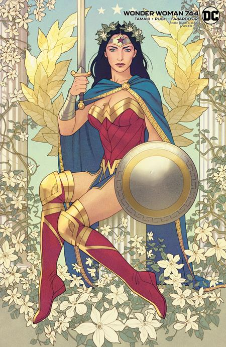WONDER WOMAN #764 CVR B JOSHUA MIDDLETON CARD STOCK VA