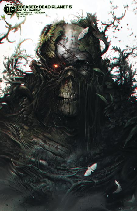 DCEASED DEAD PLANET #5 CVR B FRANCESCO MATTINA CARD ST