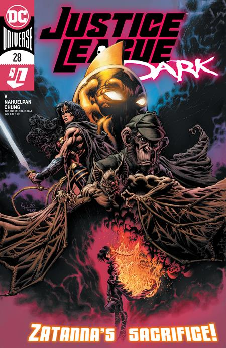 JUSTICE LEAGUE DARK #28 CVR A KYLE HOTZ