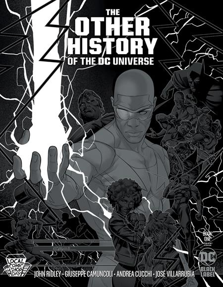 OTHER HISTORY OF THE DC UNIVERSE #1 CVR C METALLIC SILVER LCSD 2020 VAR