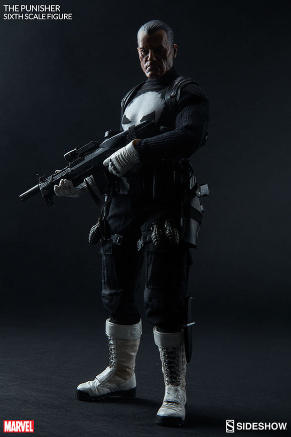 SIDESHOW MARVEL - PUNISHER 12 IN FIGURE