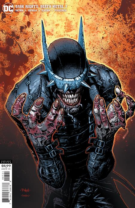 DARK NIGHTS DEATH METAL #7 CVR B DAVID FINCH BATMAN WH