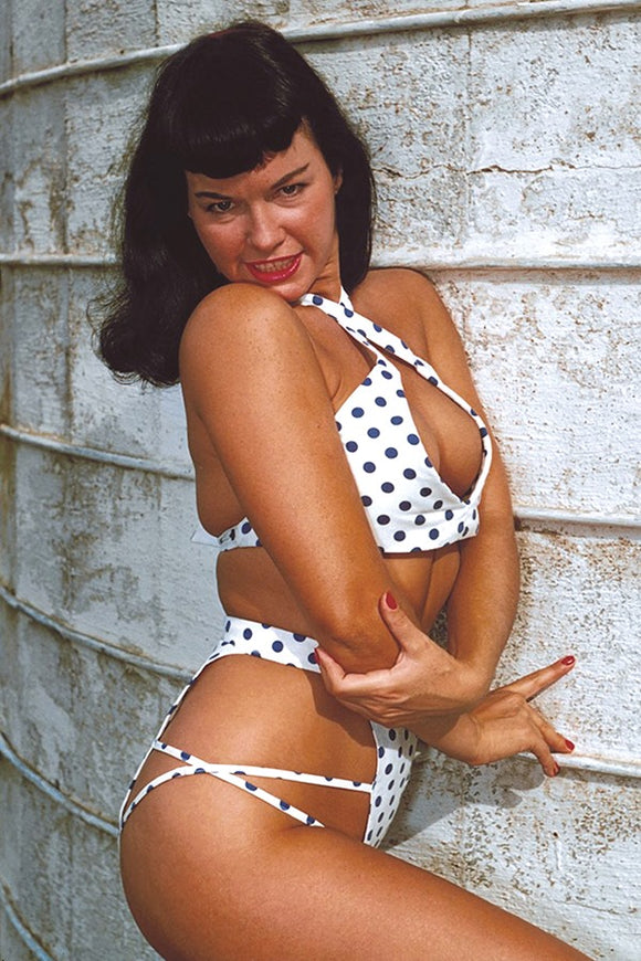BETTIE PAGE #1 21 COPY PHOTO VIRGIN FOC INCV