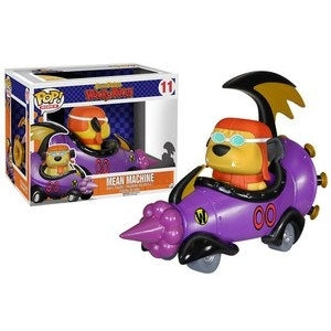 POP RIDES 11 WACKY RACES MEAN MACHINE W/GOGGLED MUTTLEY