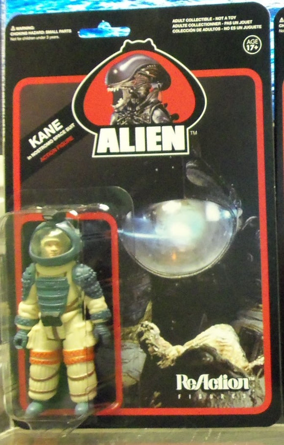 ALIEN REACTION ACTION FIGURE KANE IN SPACESUIT