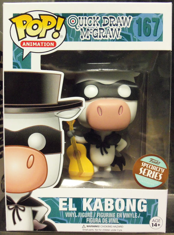 POP ANIMATION 167 EL KABONG (SPECIALTY SERIES)