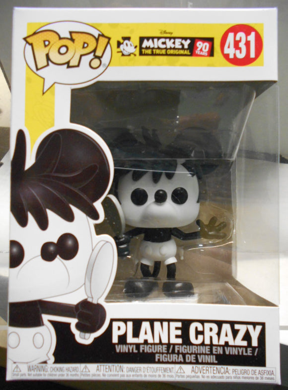 POP DISNEY 431 MICKEYS 90TH PLANE CRAZY