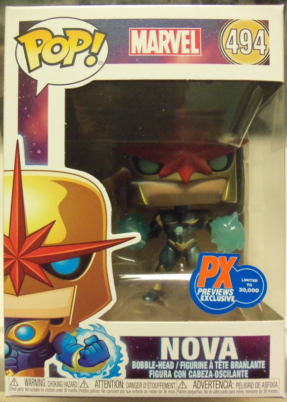 POP MARVEL 494 NOVA PRIME PX