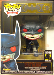 POP HEROES 286 BATMAN 80TH RED RAIN BATMAN