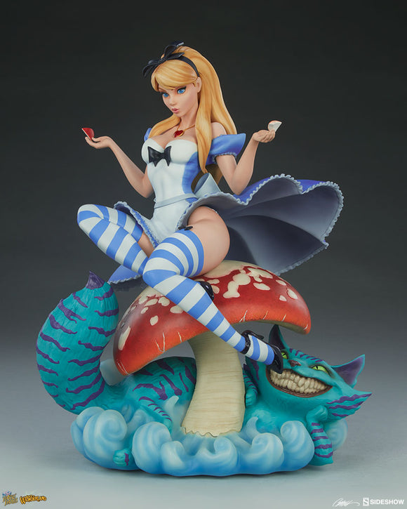 FAIRYTALE FANTASIES COLLECTION - ALICE IN WONDERLAND STATUE (J SCOTT CAMPBELL)