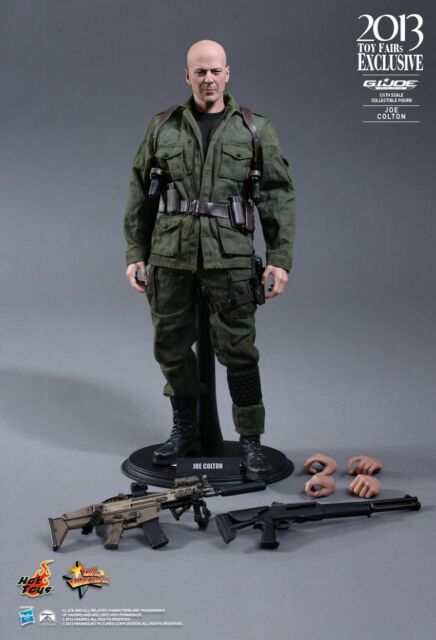 HOT TOYS GI JOE 12 IN JOE COLTON FIGURE - GI JOE RETALIATION