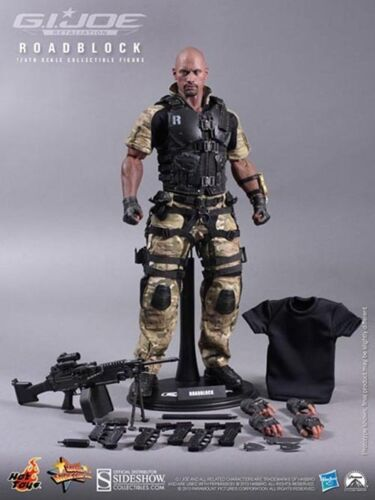 HOT TOYS GI JOE 12 IN ROADBLOCK FIGURE - GI JOE RETALIATION
