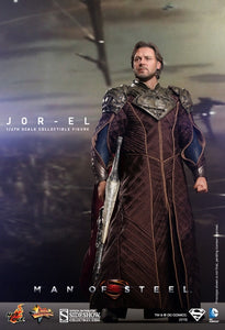 HOT TOYS MAN OF STEEL - JOR-EL 12 IN FIGURE