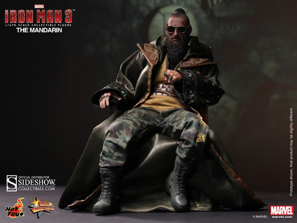HOT TOYS IRON MAN 3 MANDARIN 12 IN FIGURE