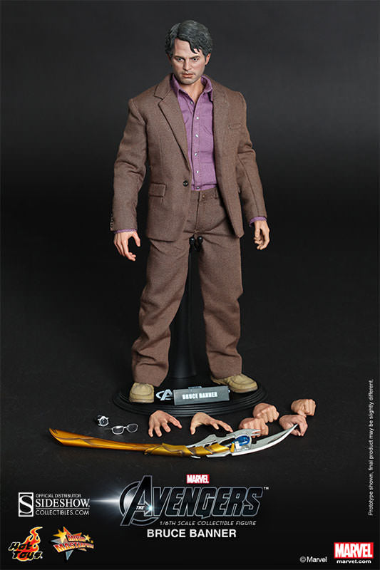 HOT TOYS AVENGERS - BRUCE BANNER 12 IN FIGURE