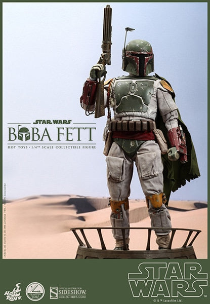 HOT TOYS STAR WARS - BOBA FETT 1/4 SCALE FIGURE