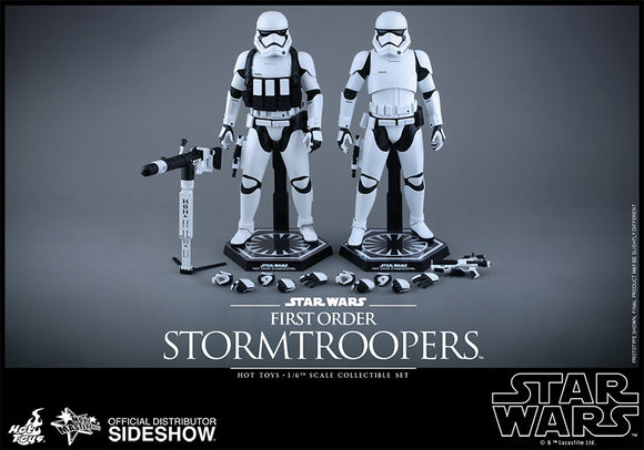 HOT TOYS STAR WARS: THE FORCE AWAKENS – FIRST ORDER STORMTROOPER SET 12 IN FIGURES