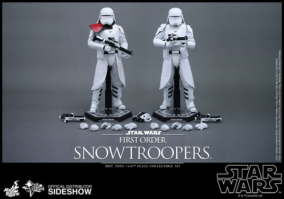 HOT TOYS STAR WARS: THE FORCE AWAKENS – FIRST ORDER SNOWTROOPER FIGURE SET