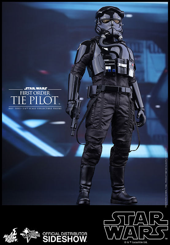 HOT TOYS STAR WARS: THE FORCE AWAKENS – FIRST ORDER TIE PILOT FIGURE
