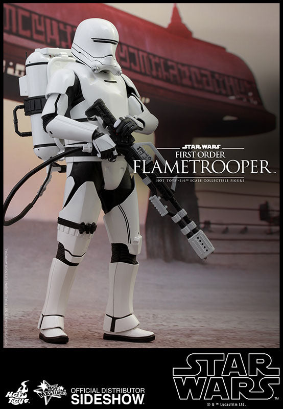 HOT TOYS STAR WARS: THE FORCE AWAKENS - F.O. FLAMETROOPER 12 IN FIGURE