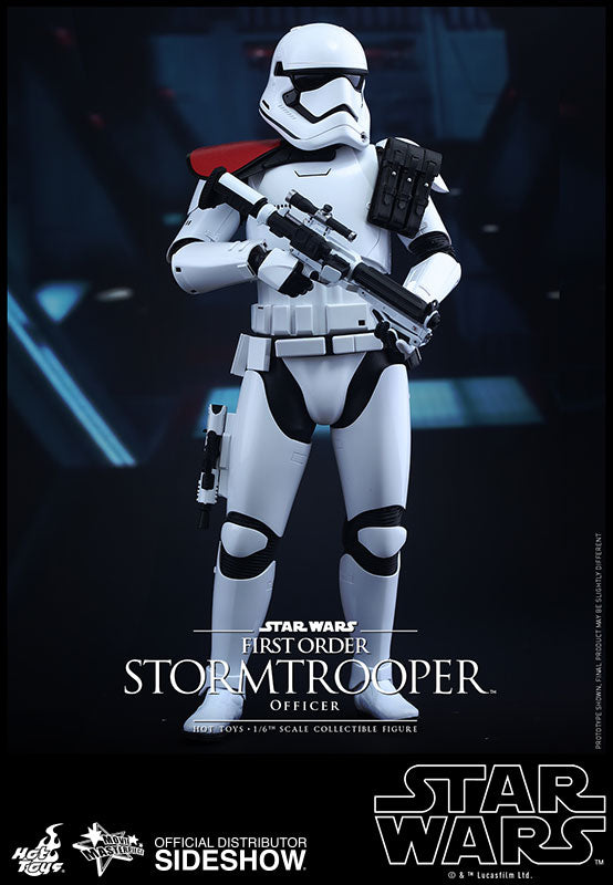 HOT TOYS STAR WARS: THE FORCE AWAKENS – FIRST ORDER STORMTROOPER OFFICER 12 IN FIGURE