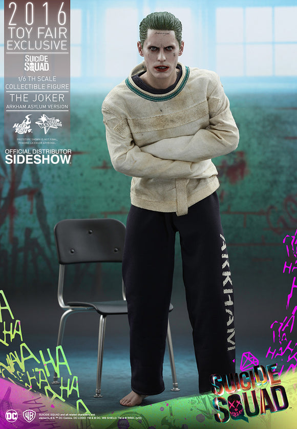 HOT TOYS SUICIDE SQUAD - JOKER (ARKHAM ASYLUM VERSION) 12 IN FIGURE