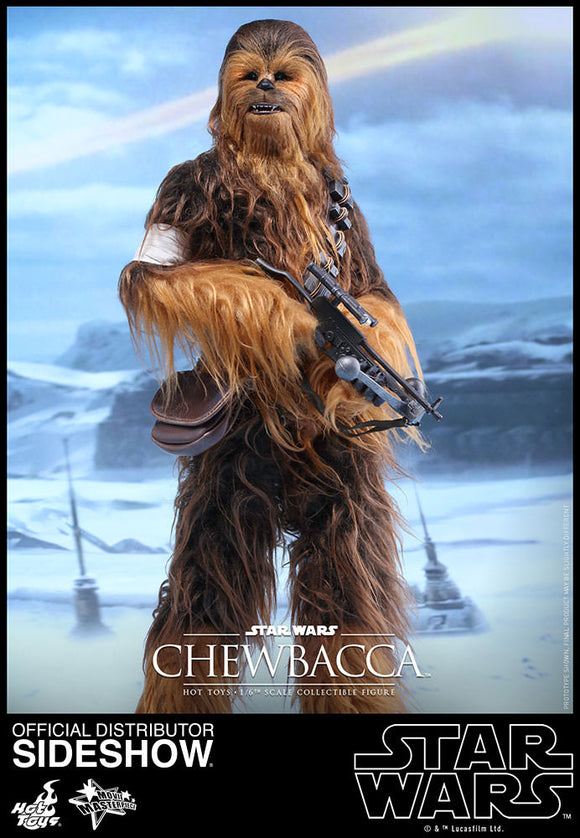 HOT TOYS STAR WARS: THE FORCE AWAKENS - CHEWBACCA 12 IN FIGURE