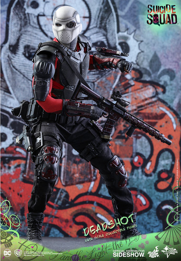 HOT TOYS SUICIDE SQUAD - DEADSHOT 12 IN FIGURE