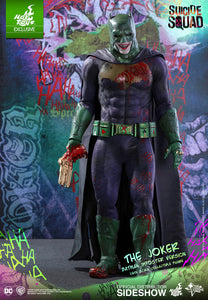 HOT TOYS SUICIDE SQUAD - JOKER (BATMAN IMPOSTER VERSION) 12 IN FIGURE