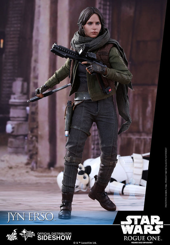 HOT TOYS STAR WARS: ROGUE ONE - JYN ERSO 12 IN FIGURE
