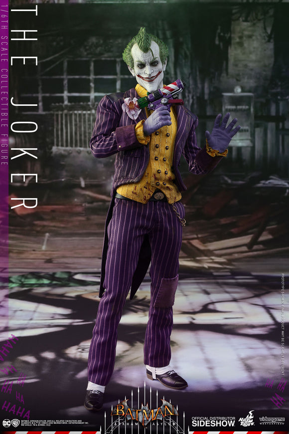 HOT TOYS JOKER - ARKHAM GAME 12 IN FIGURE