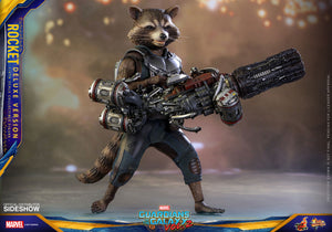 HOT TOYS GUARDIANS OF THE GALAXY 2 - ROCKET RACOON DELUXE 12 IN FIGURE