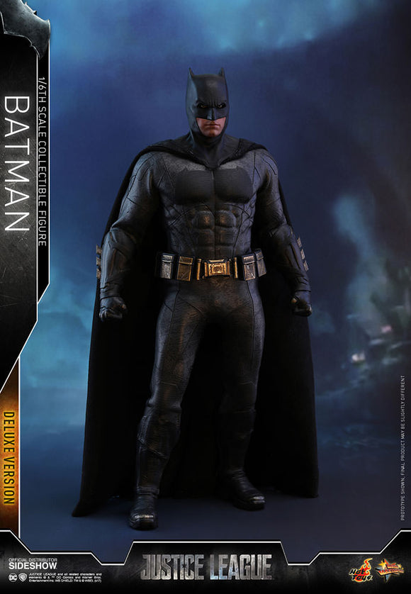 HOT TOYS JUSTICE LEAGUE - BATMAN (DELUXE VERSION) 12 IN FIGURE
