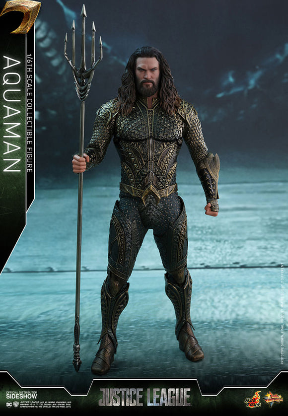 HOT TOYS JUSTICE LEAGUE - AQUAMAN 12 IN FIGURE