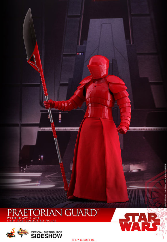 HOT TOYS STAR WARS: THE LAST JEDI - PRAETORIAN GUARD W/HEAVY BLADE 12 IN FIGURE