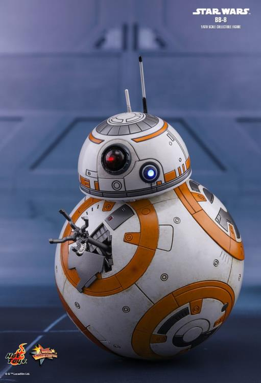 HOT TOYS STAR WARS: THE LAST JEDI - BB-8 12 IN FIGURE