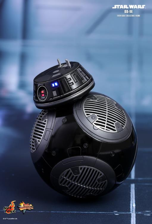 HOT TOYS STAR WARS: THE LAST JEDI - BB-9E 12 IN FIGURE