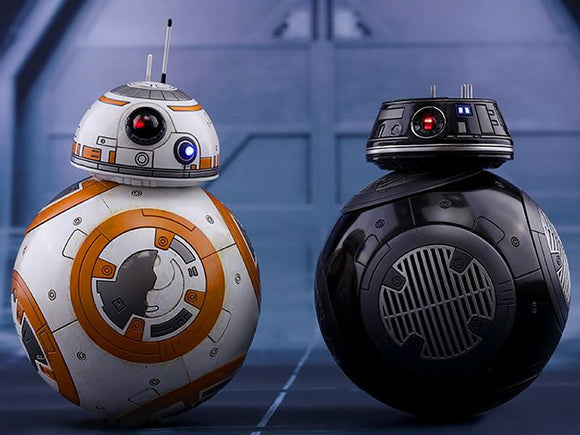 HOT TOYS STAR WARS: THE LAST JEDI - BB-8 & BB-9 SET 12 IN FIGURES