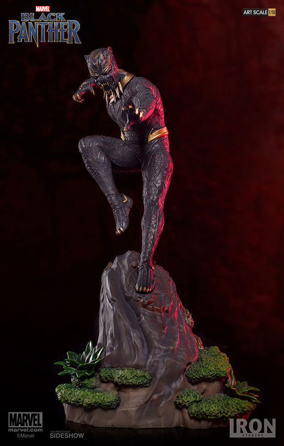 BLACK PANTHER 1/10 STATUE - KILLMONGER