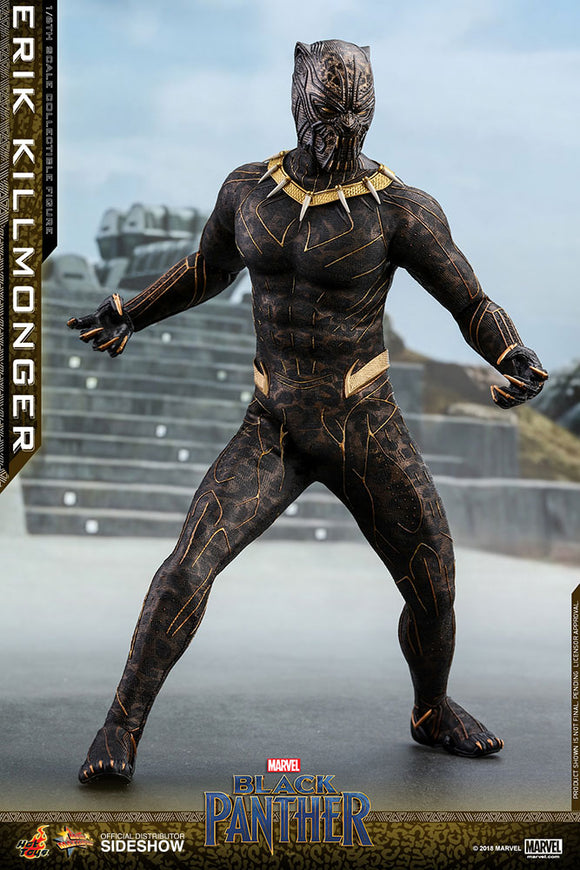 HOT TOYS BLACK PANTHER - KILLMONGER 12 IN FIGURE
