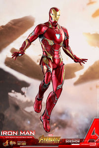 HOT TOYS AVENGERS: INFINITY WAR - IRON MAN DIECAST 12 IN FIGURE