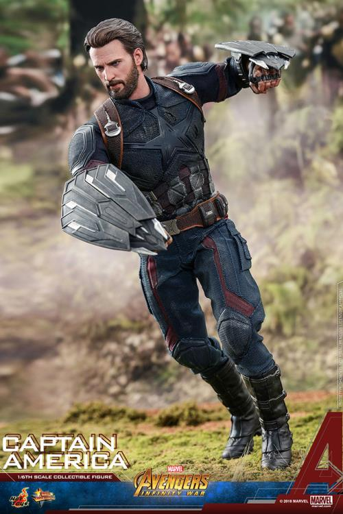 HOT TOYS AVENGERS: INFINITY WAR - CAPTAIN AMERICA 12 IN FIGURE