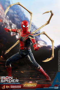 HOT TOYS AVENGERS: INFINITY WAR - IRON SPIDER 12 IN FIGURE