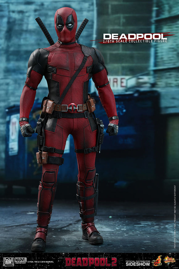 HOT TOYS DEADPOOL 2 - DEADPOOL 12 IN FIGURE
