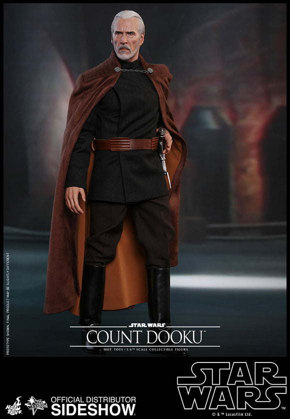 HOT TOYS STAR WARS: EPISODE II - COUNT DOOKU 12 IN FIGURE