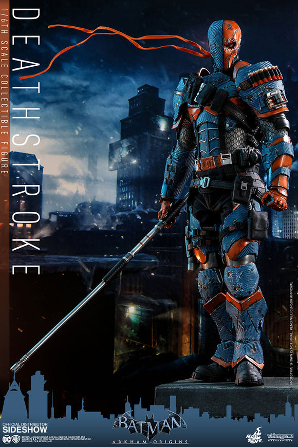 HOT TOYS DEATHSTROKE 12 IN FIGURE