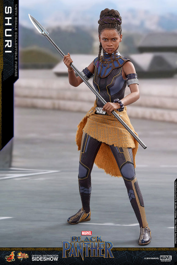 HOT TOYS BLACK PANTHER - SHURI 12 IN FIGURE